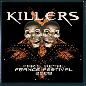killers paris metal france festival 2008